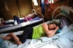 Палаточный лагерь для мигрантов из Вьетнама, Москва: Фоторепортаж