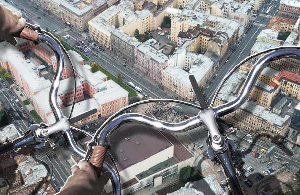 В центре Петербурга велосипедисты демонстративно нарушали ПДД, но их никто не оштрафовал