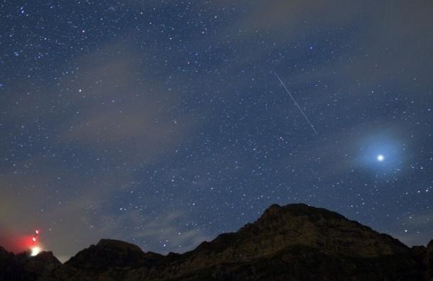 Сегодня ночью можно будет наблюдать звездопад