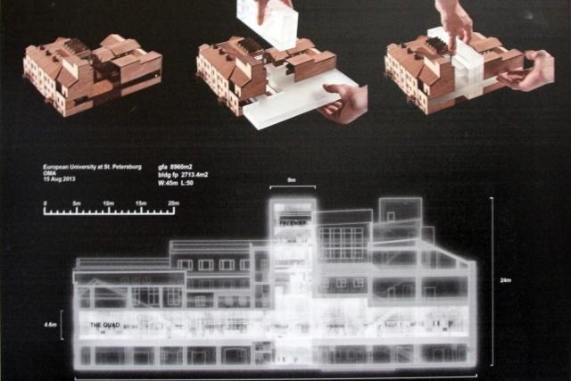 Европейский университет, проект OMA (Рем Колхас): Фото