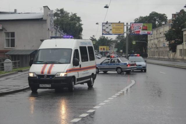 ЧП на Лиговском проспекте : Фото