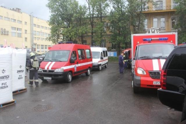 Пожар на Трефолева 2, 15 августа 2013: Фото