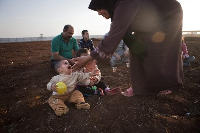 Сирийские беженцы: Фото
