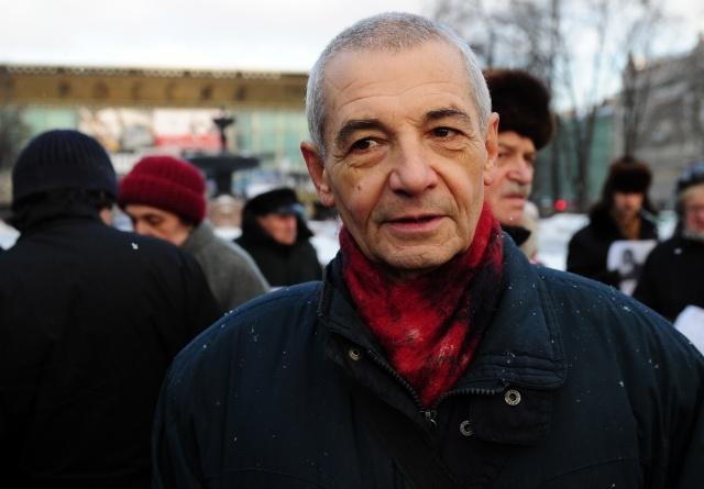 Один из лидеров «Левого фронта» Константин Косякин: Фото