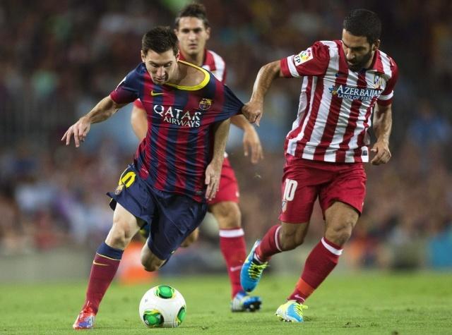 Барселона Атлетико 1:1 28 августа 2013 Суперкубок: Фото