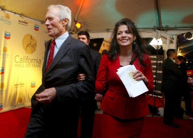 Клинт Иствуд и его жена Дина: Фото