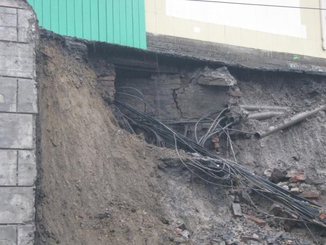 Обрушение путепровода в Красноярске: Фото
