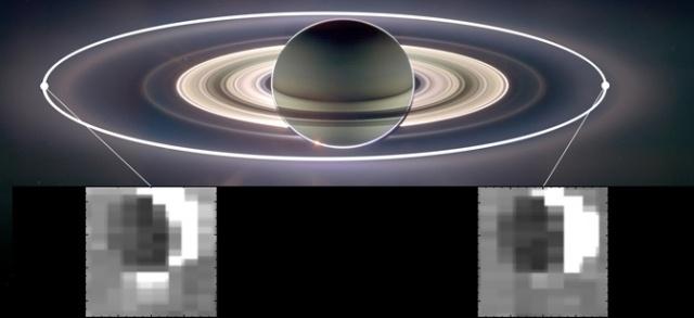Астрономы нашли внутри спутника Сатурна океан: Фото