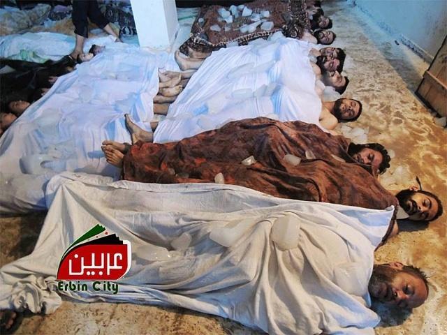 Применение химического оружия в Сирии 21.08.2013: Фото