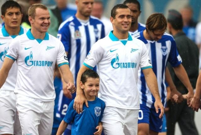 Зенит - Волга 3 августа 2013 года: Фото