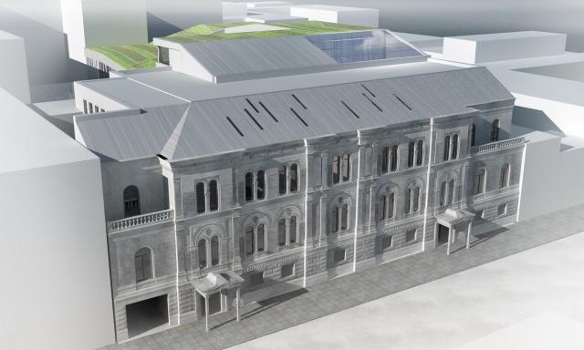Европейский университет, проект (Designed by) Erick van Egeraat: Фото