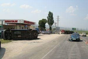 Трое петербуржцев пострадали в ДТП под Феодосией: Фото