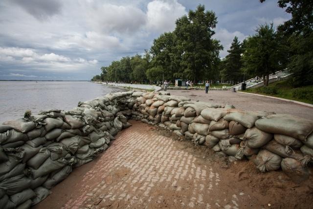Наводнение в Хабаровске 19 августа 2013: Фото