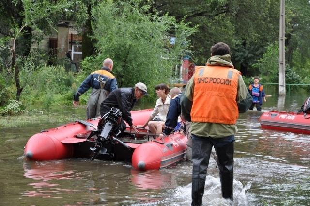 Наводнение в Хабаровском крае в августе 2013 года: Фото