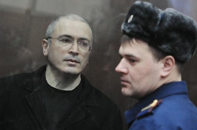 Ходорковский и Лебедев: Фото