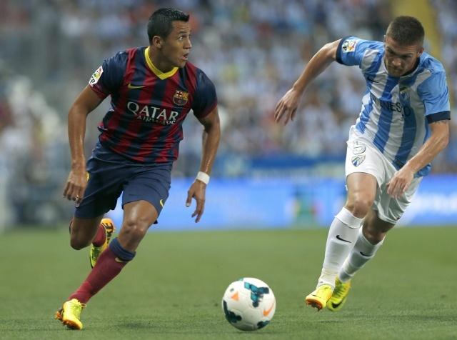Малага-Барселона 25.08.2013: Фото