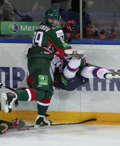 Хоккеист «Ак Барса» Артем Лукоянов: Фото