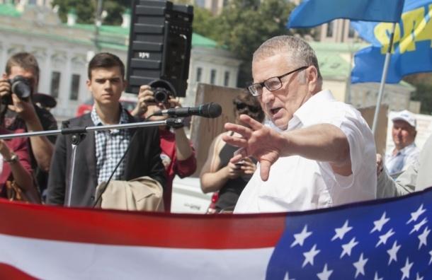 Барак Хусейнович Обамов, звездно-полосатые трусы и митинг ЛДПР у посольства США