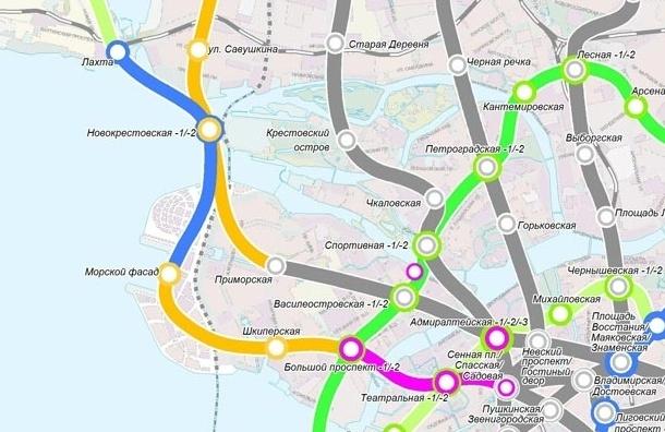 Метро «Новокрестовская» начнут строить в 2014 году