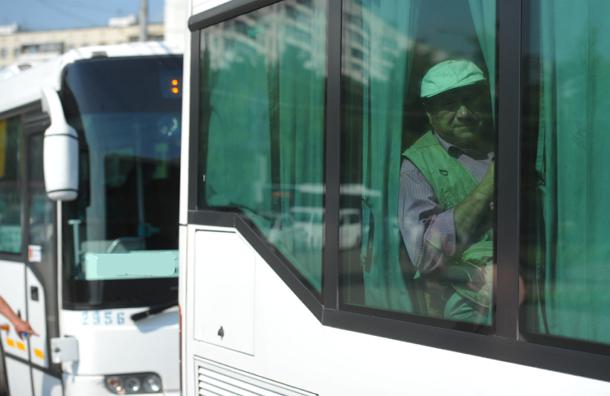 Бесплатные автобусы курсируют вместо закрытых станций столичного метро
