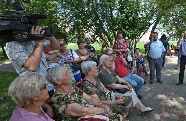 Встречи с кандидатами на пост мэра Москвы  с 15 по 22 августа