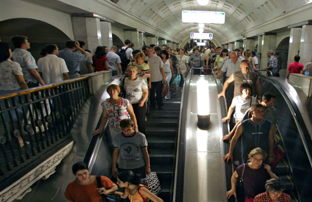 Пассажиры столичного метро узнают о новых школах и дорогах