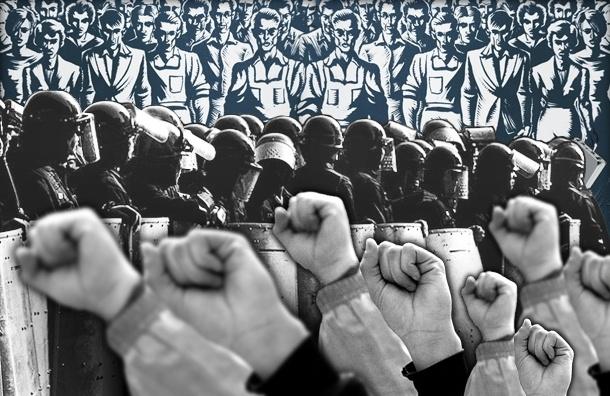 Российский рабочий, скорее, покончит с собой, чем будет бастовать