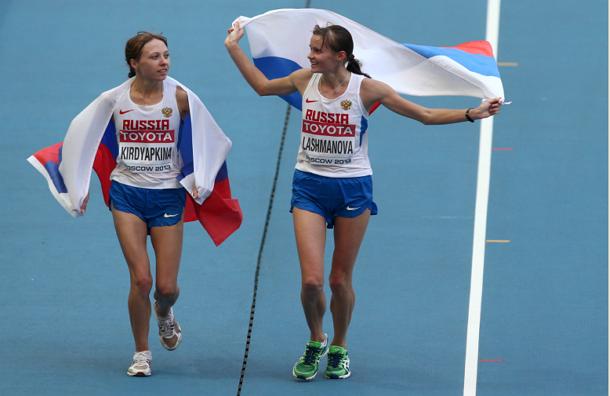 Россиянки стали лучшими в спортивной ходьбе на ЧМ по легкой атлетике
