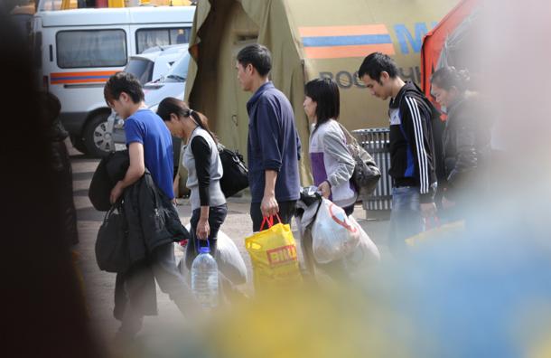 Палаточный лагерь для мигрантов сменит стационарный центр содержания иностранцев
