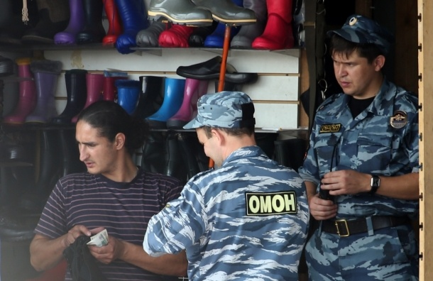 Девять несанкционированных рынков закрыто в Подмосковье - ГУ МВД