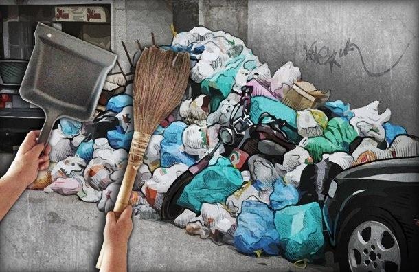 Петербуржцы хотят сдавать мусор по-европейски, а чиновники - по-советски