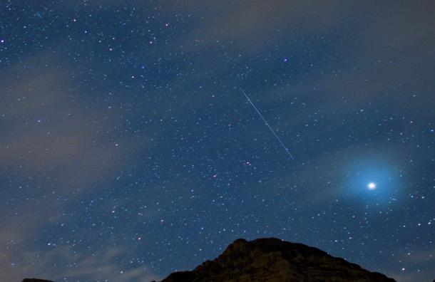 Пик августовского звездопада ожидается в ночь на ближайший вторник