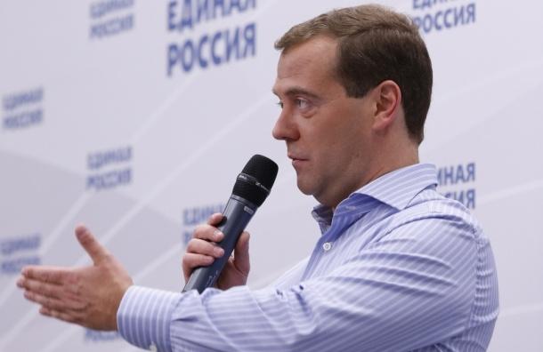 Медведев разрешает фотографировать в магазинах