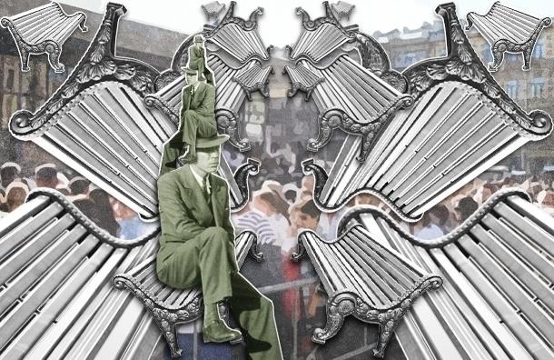 У метро «Василеостровская» должны появиться скамейки на 70 мест