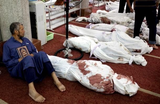 Количество жертв в Египте возросло до 525 человек