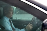 Путин за рулем Mercedes проехал по новому участку ЗСД в Петербурге: кадры