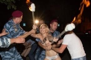 В Одессе избили активистов Femen: они говорят - сотрудники украинских спецслужб