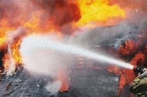 В Токсово сгорел пассажирский автобус