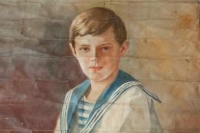 В тайнике исторического дома в Царском Селе найден портрет цесаревича Алексея