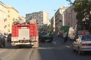 На Краснопутиловской улице Мерседес насмерть сбил пешехода