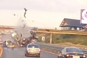 Задержан виновник ДТП на Новорижском шоссе