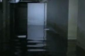 Больницу, отремонтированную после линии с Путиным, затопили дожди