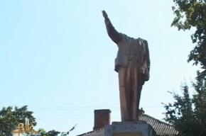 На Украине отбили голову памятнику Ленину