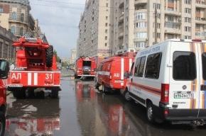 На крыше 14-этажного дома в Петербурге ликвидирован пожар
