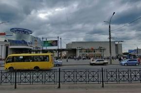 У метро «Улица Дыбенко» петербурженок призывают выходить замуж за русских