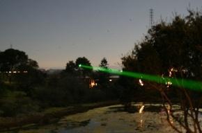В «Пулково» пилотов самолета пытались ослепить лазером