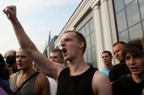 На народном сходе в Петербурге задержали около 30 человек