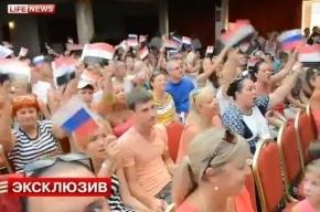 С криками «Русгада» россияне устроили митинг в Хургаде