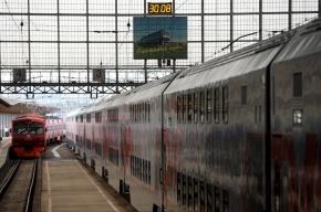 В Москве презентовали двухэтажный пассажирский поезд