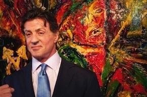 Сильвестр Сталлоне лично откроет выставку своих картин в Русском музее